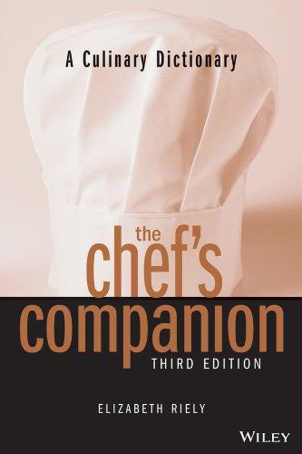 9780471398424: The Chef's Companion, Third Edition