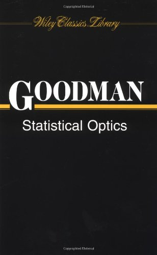 9780471399162: Statistical Optics (Wiley Classics Library)