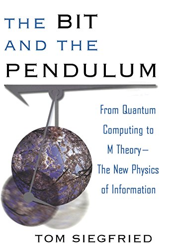 9780471399742: The Bit and the Pendulum: From Quantum Computing to M Theory-The New Physics of Information