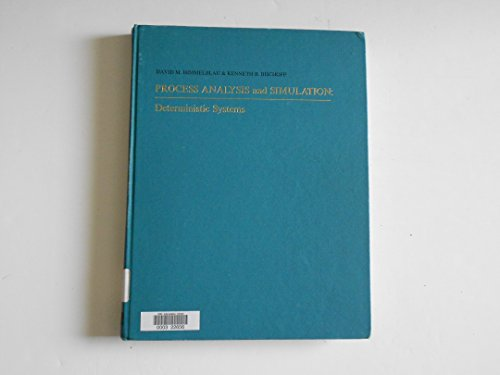 9780471399902: Process Analysis and Simulation. Deterministic Systems