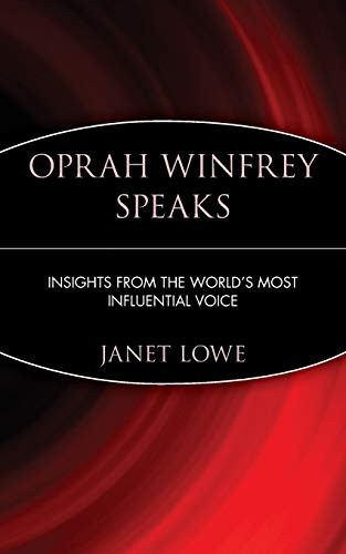 9780471399940: Oprah Winfrey Speaks: Insights from the World's Most Influential Voice