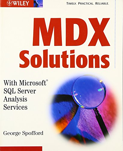 9780471400462: MDX Solutions: With Microsoft SQL Server Analysis Services