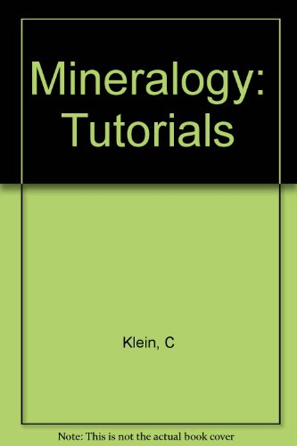 9780471400738: Mineralogy 22e Tutorials: Interactive Instruction on Cd-Rom Version 3.0 Packaged with Book And Sold As a Stand-Alone