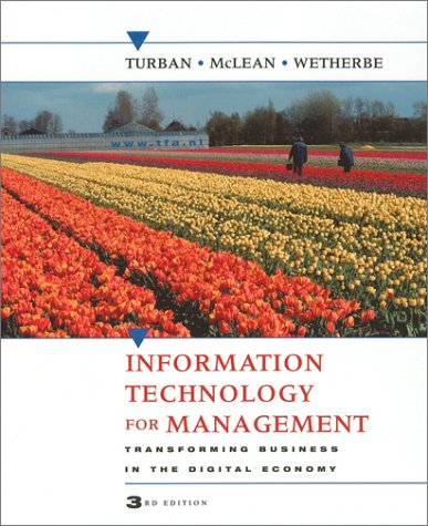 9780471400752: Information Technology for Management - Transforming Business in the Digital Economy 3rd Edition