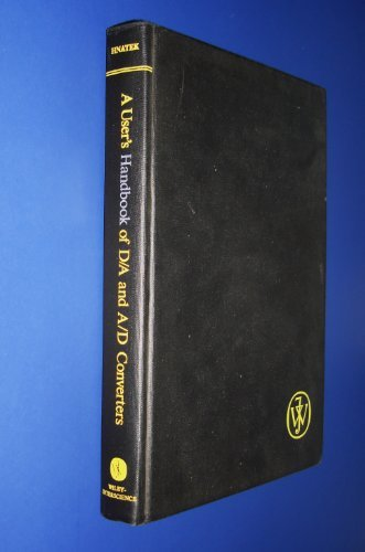 9780471401094: A User's Handbook of Digital to Analogue and Analogue to Digital Converters