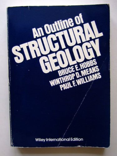 9780471401575: An Outline of Structural Geology