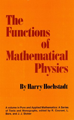 9780471401704: The Functions of Mathematical Physics (Pure & Applied Mathematics)