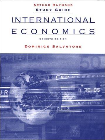 9780471401957: International Economics, Study Guide