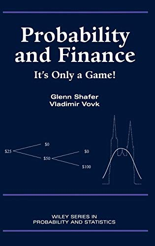 9780471402268: Probability and Finance: It's Only a Game!