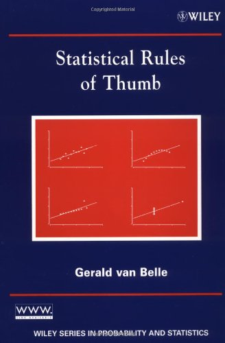 9780471402275: Statistical Rules of Thumb (Wiley Series in Probability and Statistics)