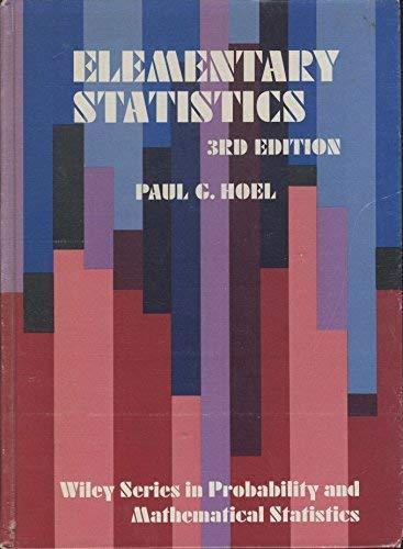 9780471403005: Elementary Statistics (Probability & Mathematical Statistics)