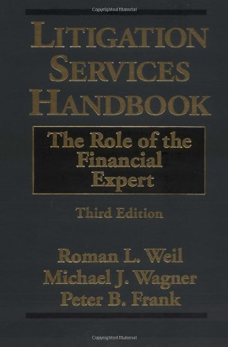 9780471403098: Litigation Services Handbook: The Role of the Financial Expert