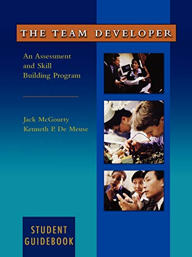 9780471403845: The Team Developer: An Assessment and Skill Building Program Student Guidebook