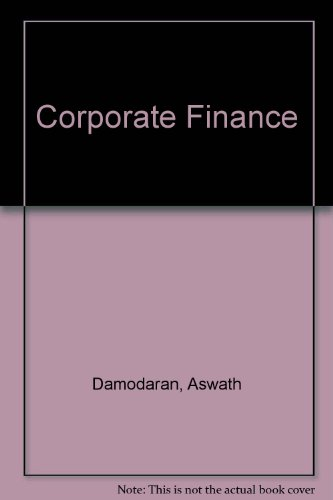 9780471406082: Corporate Finance