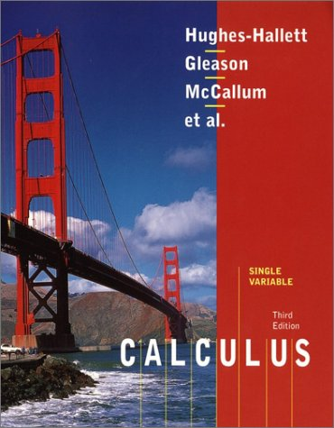 9780471408253: Calculus, Single Variable