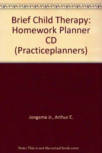 9780471411444: Brief Child Therapy Homework Planner