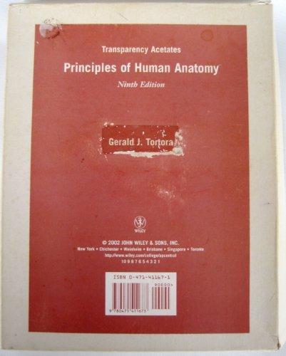 9780471411673: Principles of Human Anatomy