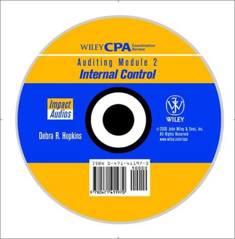 9780471411970: Cpa Audio Audit Module 2