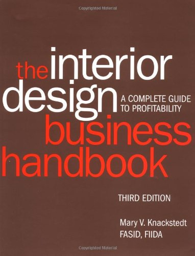 9780471412328: Interior Design Business Handbook: A Complete Guide to Profitability