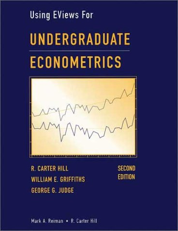 9780471412397: Undergraduate Econometrics, Using EViews For