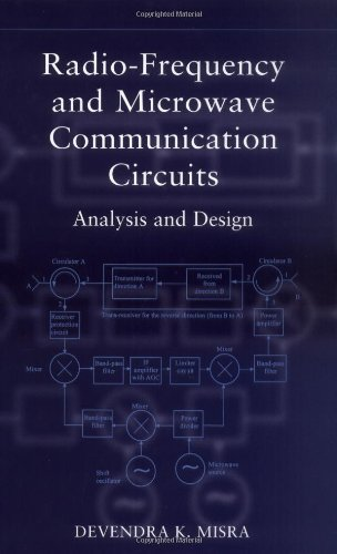 9780471412533: Radio-Frequency and Microwave Communications Circuits: Analysis and Design