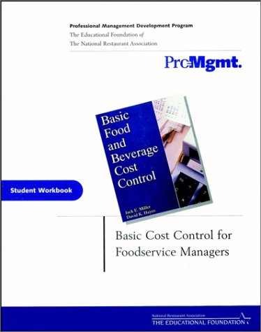 9780471413042: Basic Food and Beverage Cost Control, Student Workbook