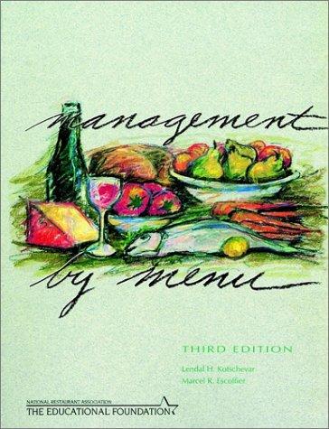 9780471413196: Management by Menu