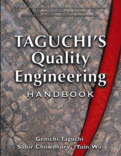 9780471413349: Taguchi's Quality Engineering Handbook