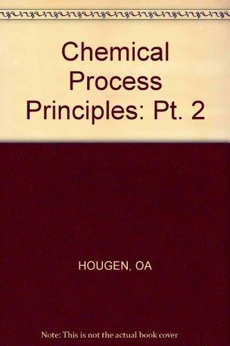 Thermodynamics: O. A. Hougen;