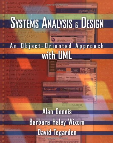 9780471413875: Systems Analysis and Design: An Object-Oriented Approach with UML