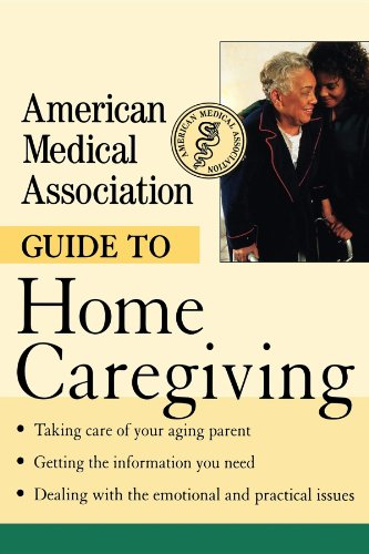9780471414094: American Medical Association Guide to Home Caregiving