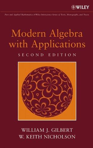 9780471414513: Modern Algebra with Applications