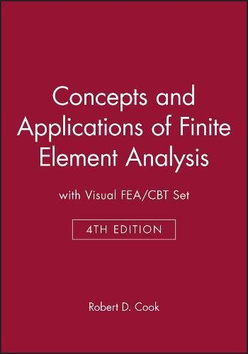 9780471414858: Concepts & Applications of Finite Element Analysis 4e with Visualfea/Cbt Set