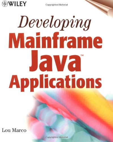 9780471415282: Developing Mainframe Java Applications