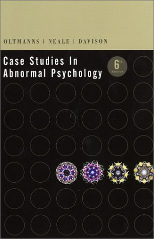 case studies in abnormal psychology meyer Brand new please allow 5-7 working days for delivery this item is shipped from our nz warehouse case studies in abnormal behavior by robert g.
