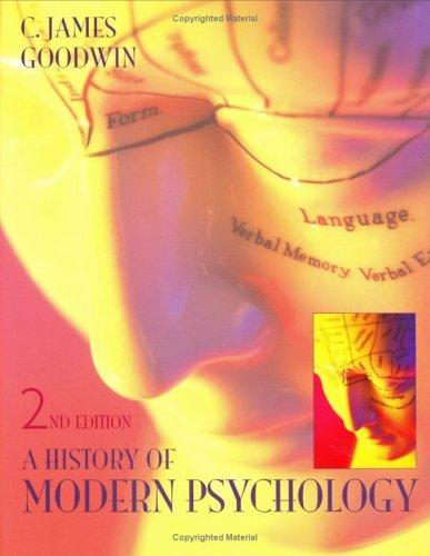 9780471415657: A History of Modern Psychology