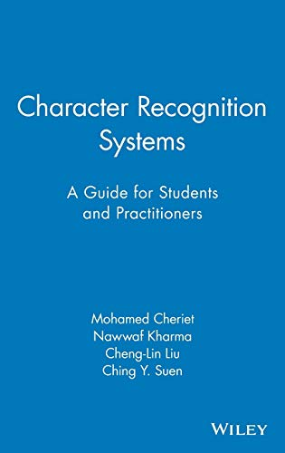 9780471415701: Character Recognition Systems: A Guide for Students and Practitioners