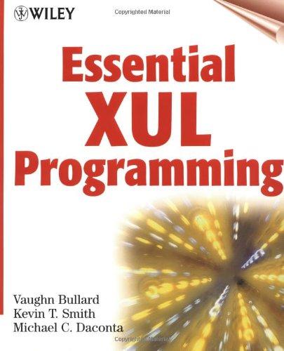 9780471415800: Essential XUL Programming