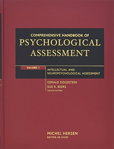 9780471416111: Comprehensive Handbook of Psychological Assessment, Volume 1: Intellectual and Neuropsychological Assessment