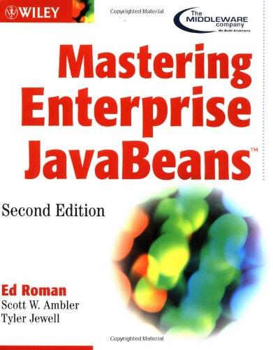 9780471417118: Mastering Enterprise JavaBeans (2nd Edition)