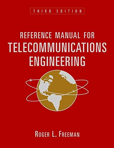 9780471417187: Reference Manual for Telecommunications Engineering, 2 Volume Set, 3rd Edition