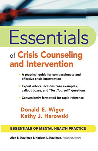 9780471417552: Crisis Counseling Essentials