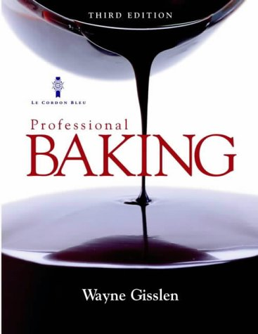 9780471417750: Professional Baking, Textbook and Study Guide