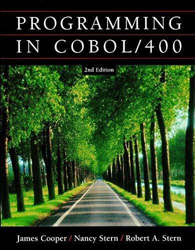 9780471418467: Programming in Cobol/400