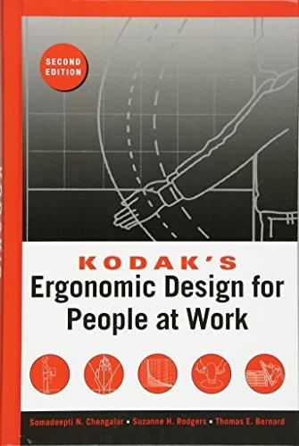 9780471418634: Kodak's Ergonomic Design for People at Work