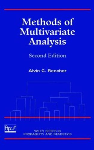 9780471418894: Methods of Multivariate Analysis