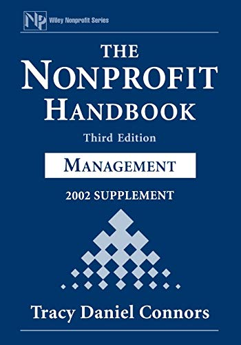 9780471419389: The Nonprofit Handbook, 2002 Supplement: Management (Wiley Nonprofit Law, Finance and Management Series)