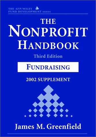 9780471419396: The The Nonprofit Handbook: The Nonprofit Handbook, 2002 Supplement 2002 Supplement to 3r.e. (Wiley Nonprofit Law, Finance and Management)