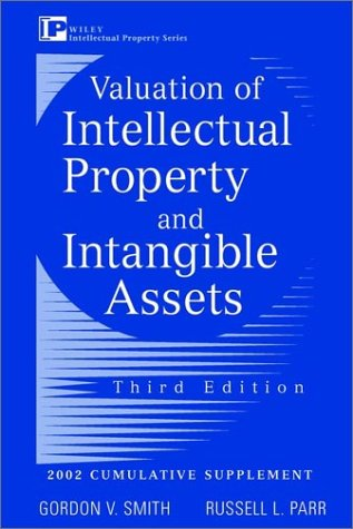 9780471419433: Valuation of Intellectual Property and Intangible Assets: Cumulative Supplement