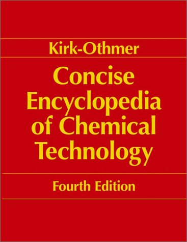 9780471419617: Kirk-Othmer Encyclopedia of Chemical Technology, Concise, 4th Edition